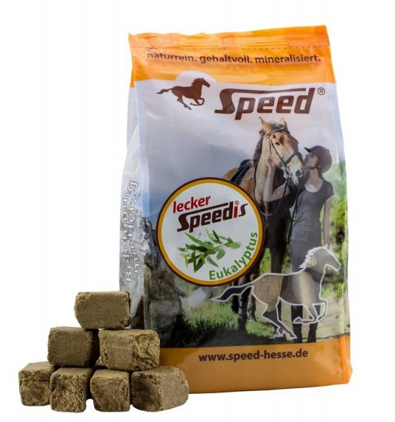 Lecker-Speedis mit Eukalyptus 1 kg Btl.