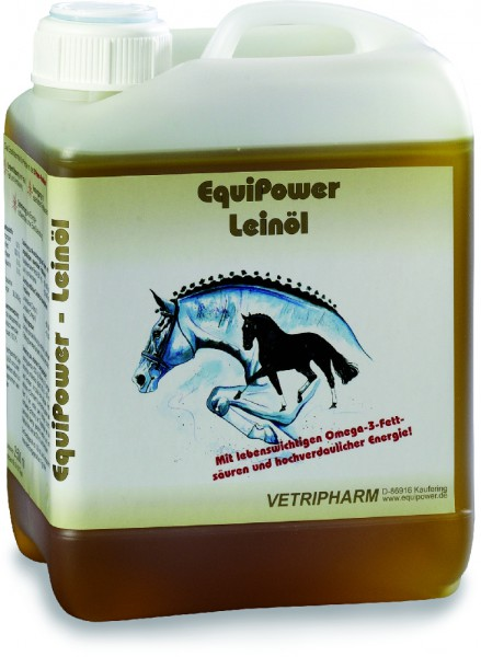Equipower Leinöl, 2,5 l