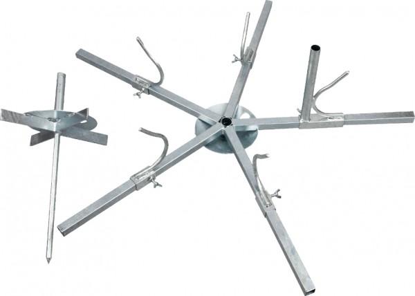 Drahthaspel für Stahldraht und HippoWire