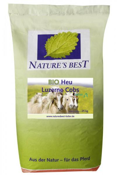 Natures Best Bio Heu Luzerne Cobs 25 kg