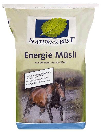 Natures Best Energie Müsli 20 kg