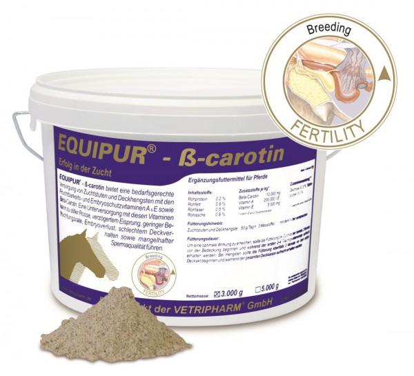 Equipur - ß-Carotin 3000 g Eimer