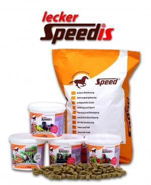 Lecker-Speedis mit Eukalyptus 25 kg Sack