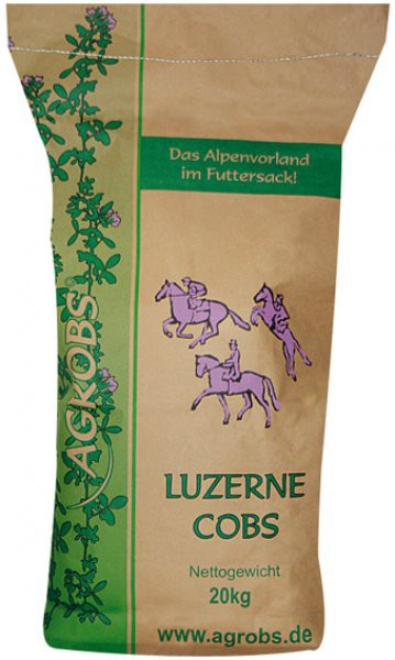 Agrobs Luzerne Cobs 20 kg