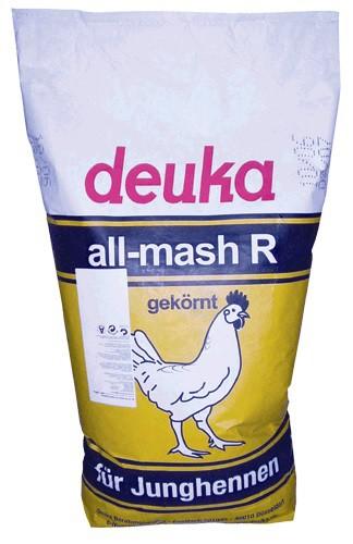 Deuka All Mash R, gekörnt, ohne Cocc.