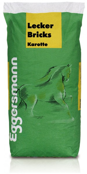 Eggersmann Lecker Bricks mit Karotte, 25 Kg