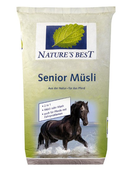Natures Best Senior Müsli 20 kg