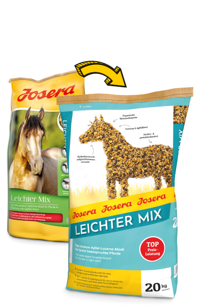 Josera Pferdefutter Leichter Mix 20 kg