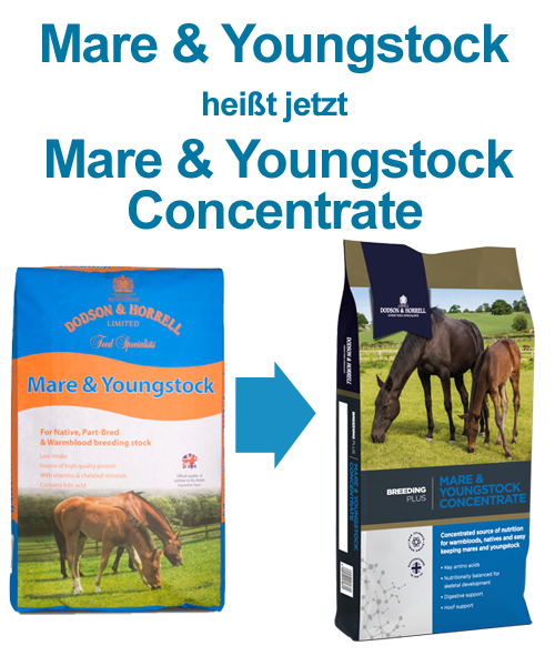 Dodson & Horrell Mare and Youngstock Concentrate 20 kg