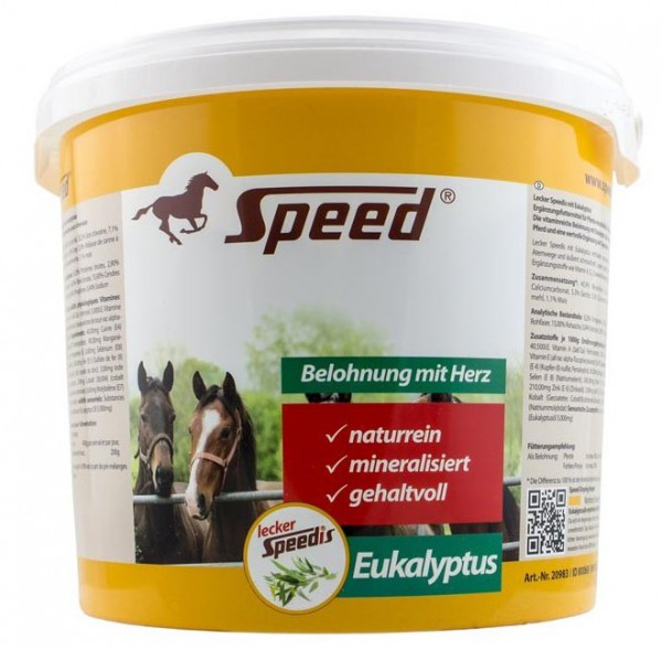 Lecker-Speedis mit Eukalyptus 3 kg Eimer