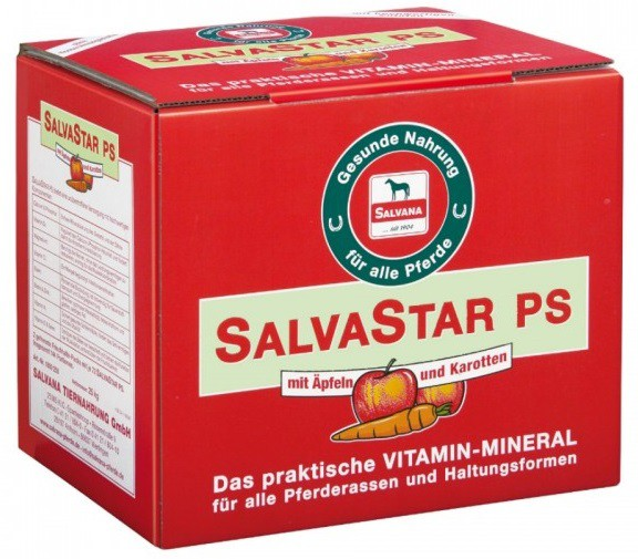Salvana SALVASTAR PS mit Äpfeln und Karotten 25 kg