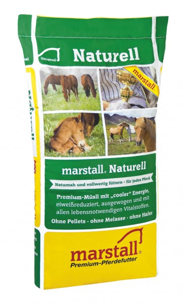 Marstall Naturell Pelletfrei+Struktur 15 kg