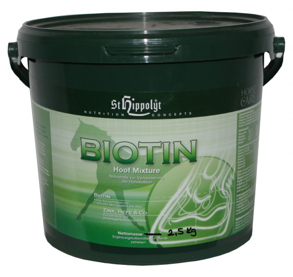 St.Hippolyt Biotin Mixture 2,5 kg