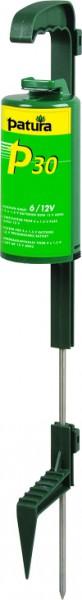 P30, Weidezaun-Gerät mit Standfuß, für 4 Monozellen oder ext. 12 V Akku