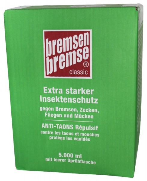 Zedan BREMSENBREMSE classic Insektenschutz 5 L