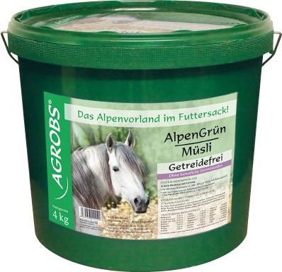 Agrobs Alpengrün Müsli Eimer 4 kg