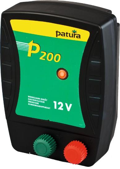 P200, Weidezaun-Gerät für 12 V Akku mit Tragebox