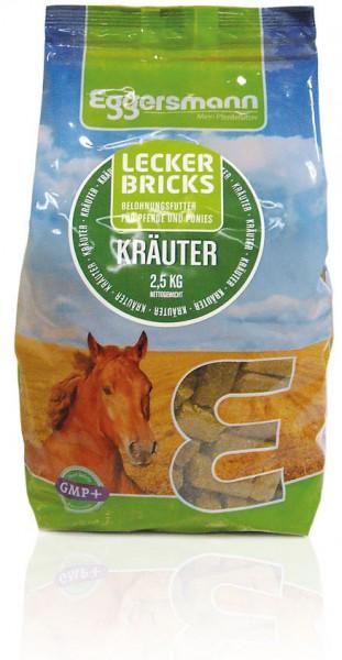 Eggersmann Kräuter Bricks, 2,5 Kg