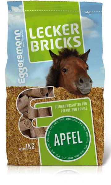 Eggersmann Lecker Bricks mit Apfel, 1 Kg