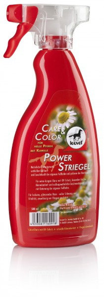 Leovet Power Striegel mit Kamille für helle Pferde 500 ml