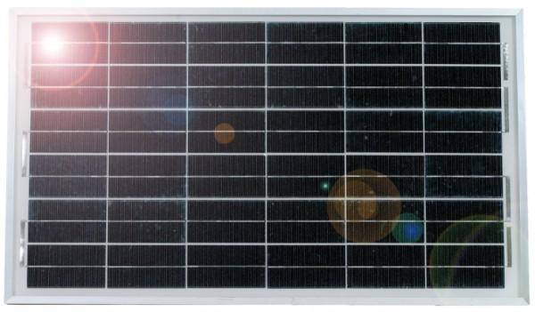 Solarmodul 25 Watt, mit Halter für Maxibox