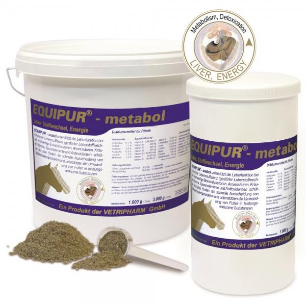 Equipur - metabol 1000 g Dose