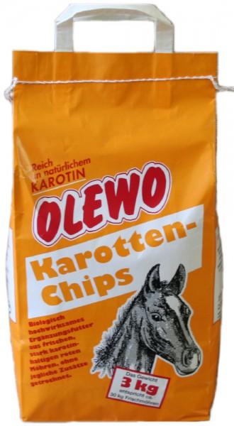 Olewo, Karottenchips, 3 Kg