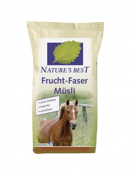 Natures Best Frucht Faser Müsli 15 kg