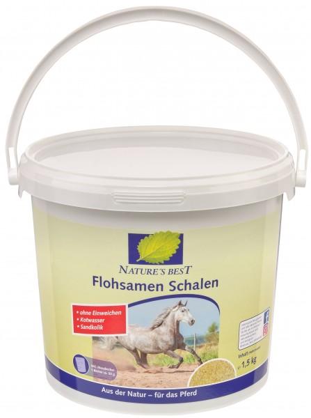 Natures Best Flohsamen Schalen mit Bockshornkleesamen 1,5 kg