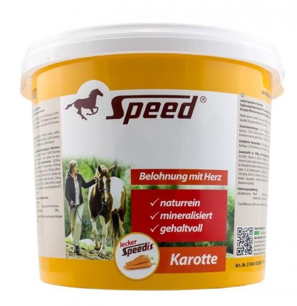 Lecker-Speedis mit Karotte 3kg Eimer