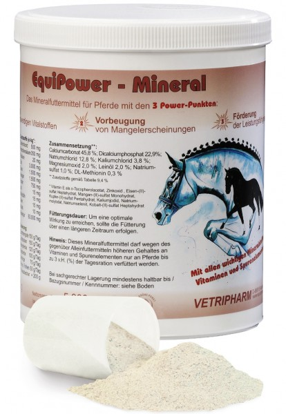 EquiPower Mineral 1500 g Dose