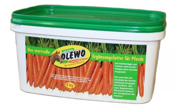 Olewo Karotten Pellets mit Öl 4 kg