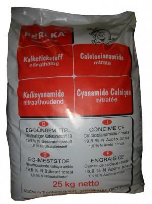 Kalkstickstoff Perlka 25 kg (1 Pal. mit 800 kg)