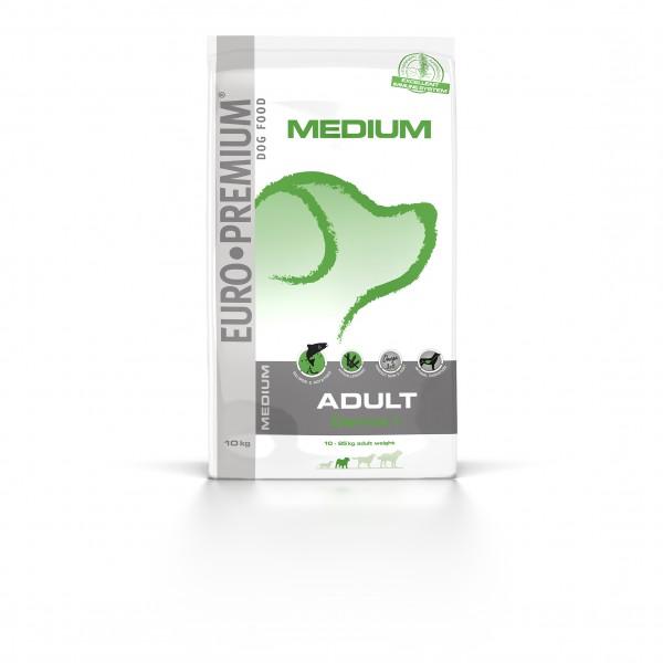 Euro Premium Medium Adult Derma +, 10 kg