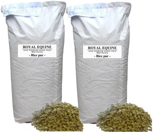 ROYAL EQUINE - Rice pur - Reisfutter Sparpaket 2x15 kg