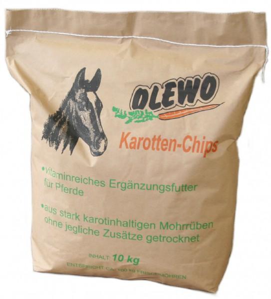 Olewo, Karottenchips, 10 Kg