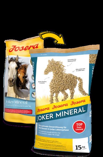 Josera Pferdefutter Joker-Mineral 15 kg