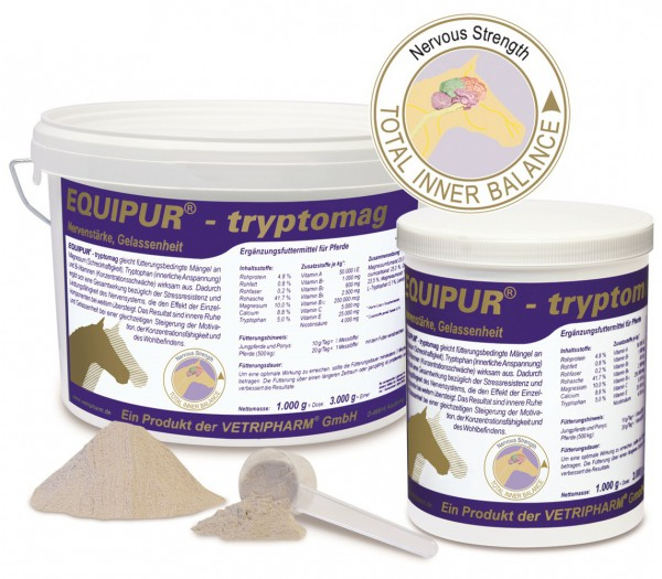 Equipur - tryptomag 1000 g Dose